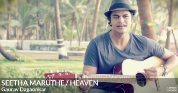 Seetha Maruthe/Heaven (Cover) by Gaurav Dagaonkar Lyrics: Seetha Maruthe/Heaven (Cover) lyrics in english by Gaurav Dagaonkar - Seetha maruthe welemin as diha balan oba mata adare kiyu mathakaya heenayak wage atha meedume didulana punsandak wage eliyai e hangum hithe obamai jeewithe mage // Oh thinking about all our younger years There was only you and me we were young and wild and free Now nothing can